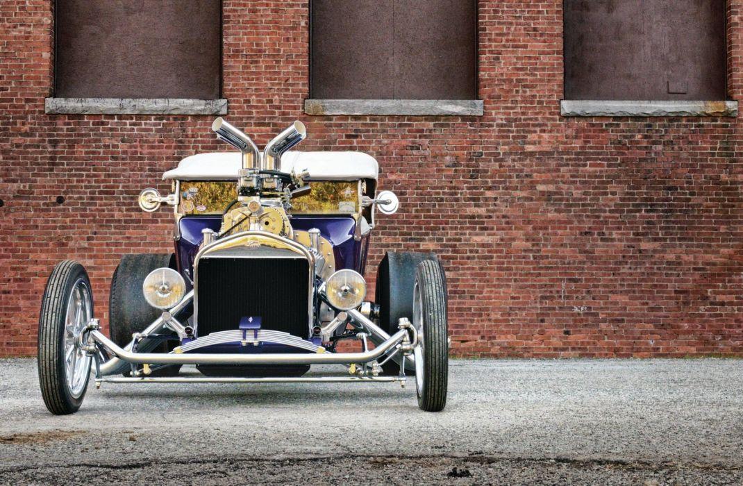 1923 Ford Model-T Hotrod Hot Rod T-bucket Street Rodder USA 2048x1340-01 wallpaper
