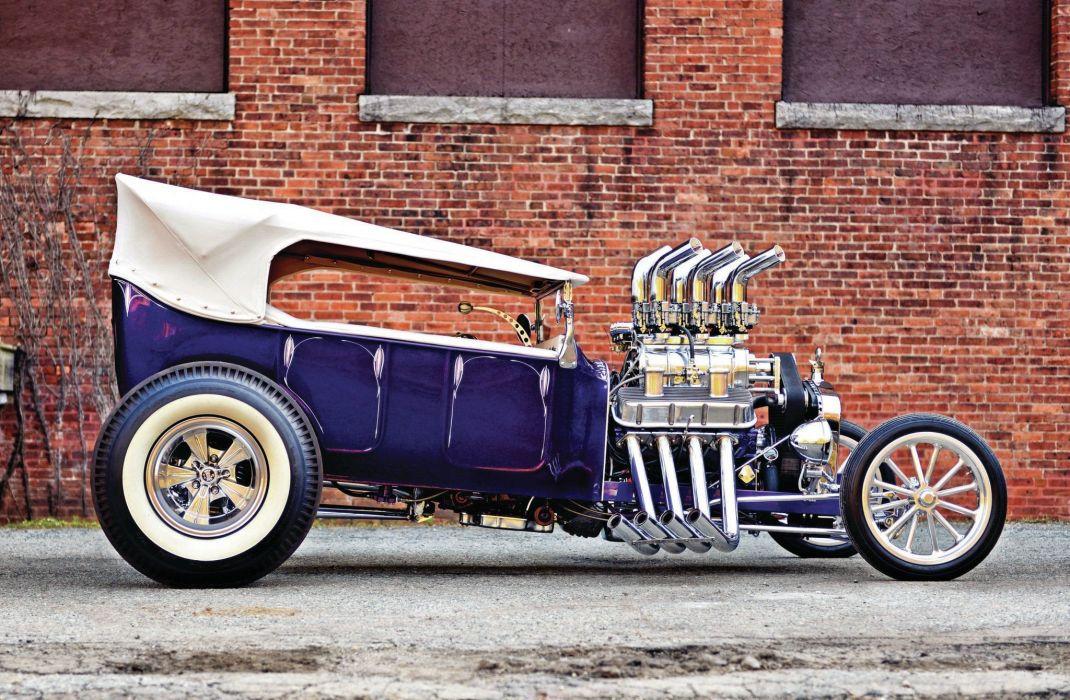 1923 Ford Model-T Hotrod Hot Rod T-bucket Street Rodder USA 2048x1340-02 wallpaper