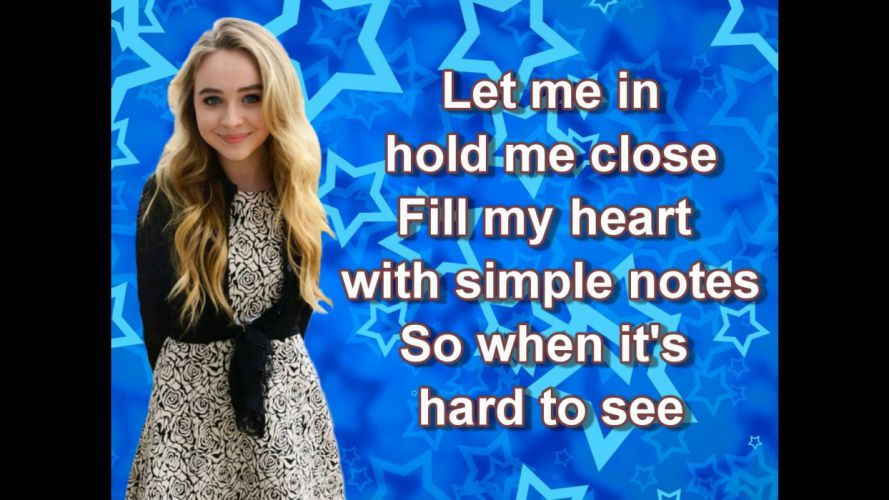 SABRINA CARPENTER singer actress pop blonde 1sabrina disney meets world wallpaper
