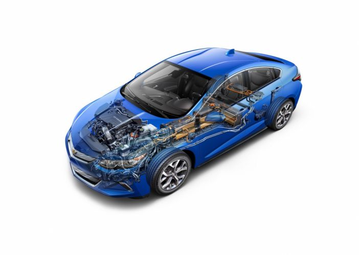 2016 Chevy Volt cars electric technical wallpaper