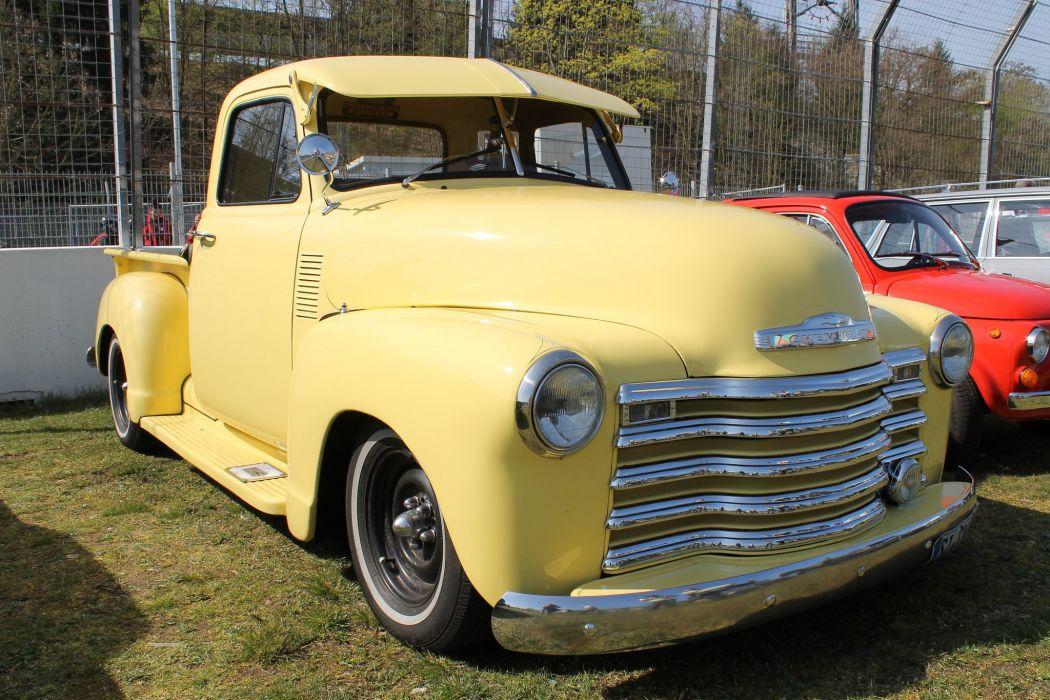 Chevrolet chevy old classic custom cars truck Pickup wallpaper