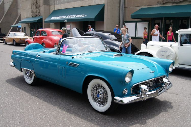 Ford Thunderbird MkI cars classic convertible wallpaper