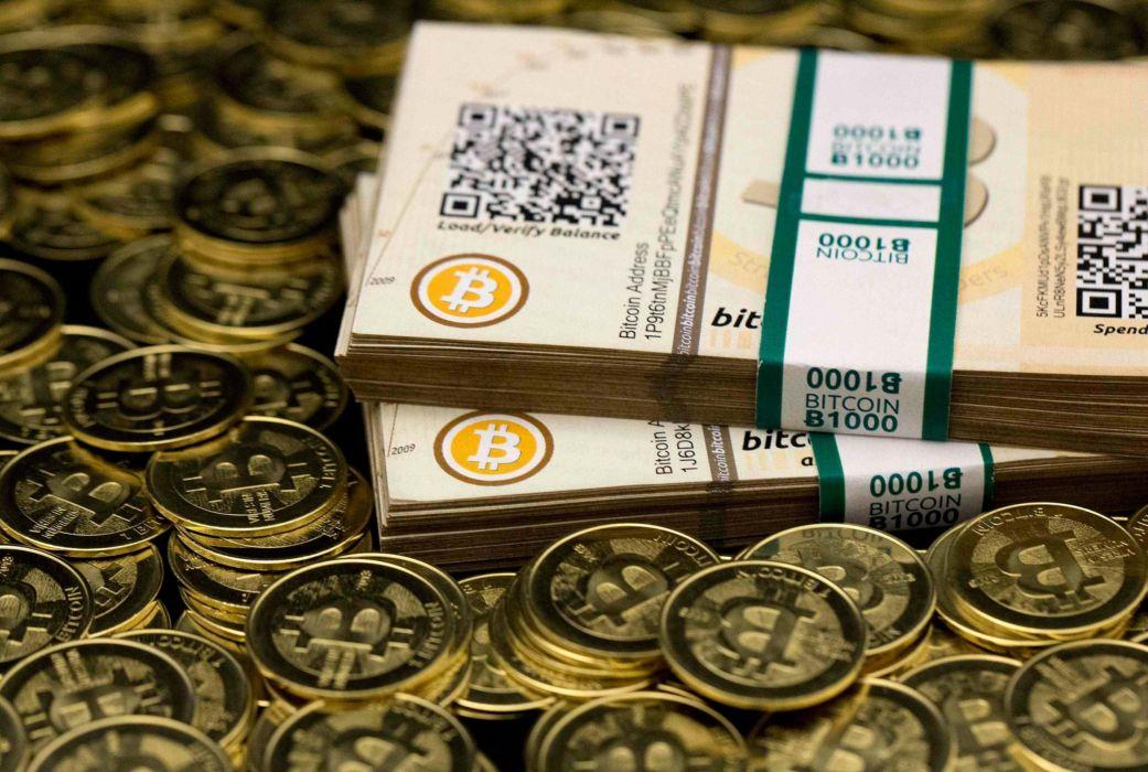 BITCOIN computer internet money coins wallpaper
