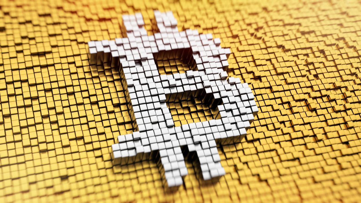 BITCOIN computer internet money coins poster wallpaper