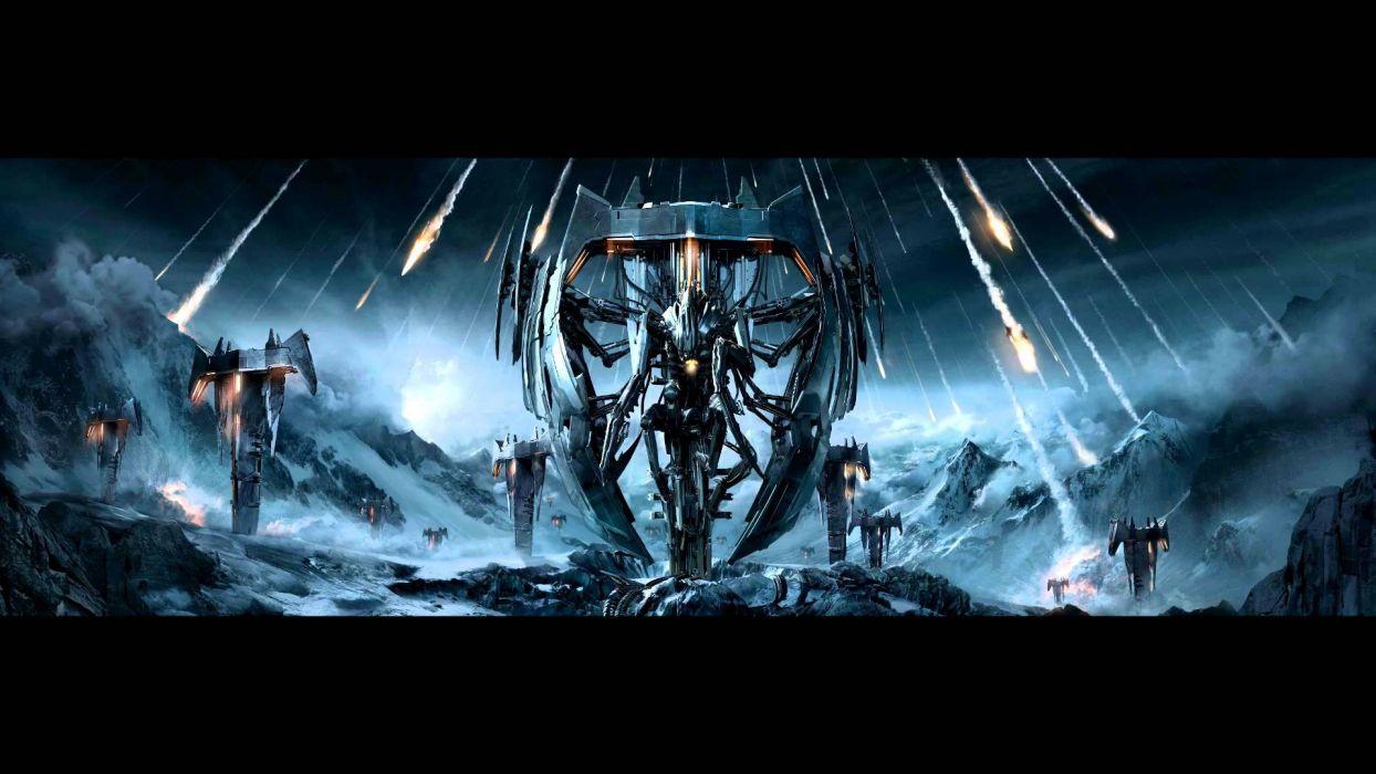 TRIVIUM metalcore heavy metal hardcore thrash melodic death 1trivium poster dark sci-fi alien wallpaper