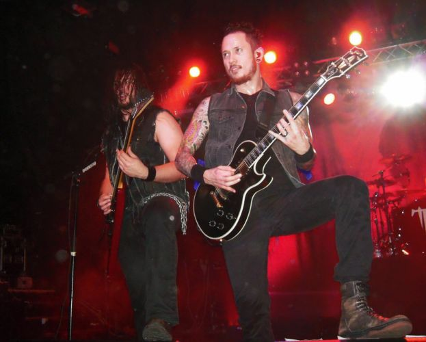TRIVIUM metalcore heavy metal hardcore thrash melodic death 1trivium concert guitar wallpaper