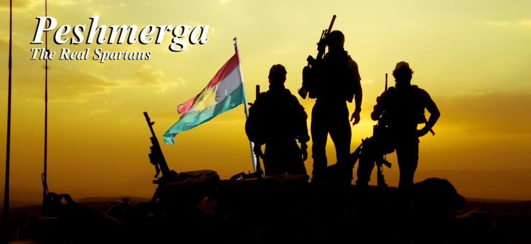 KURDISTAN kurd kurds kurdish flag poster military wallpaper