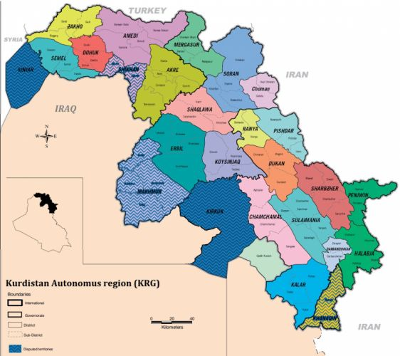 KURDISTAN kurd kurds kurdish map maps poster wallpaper