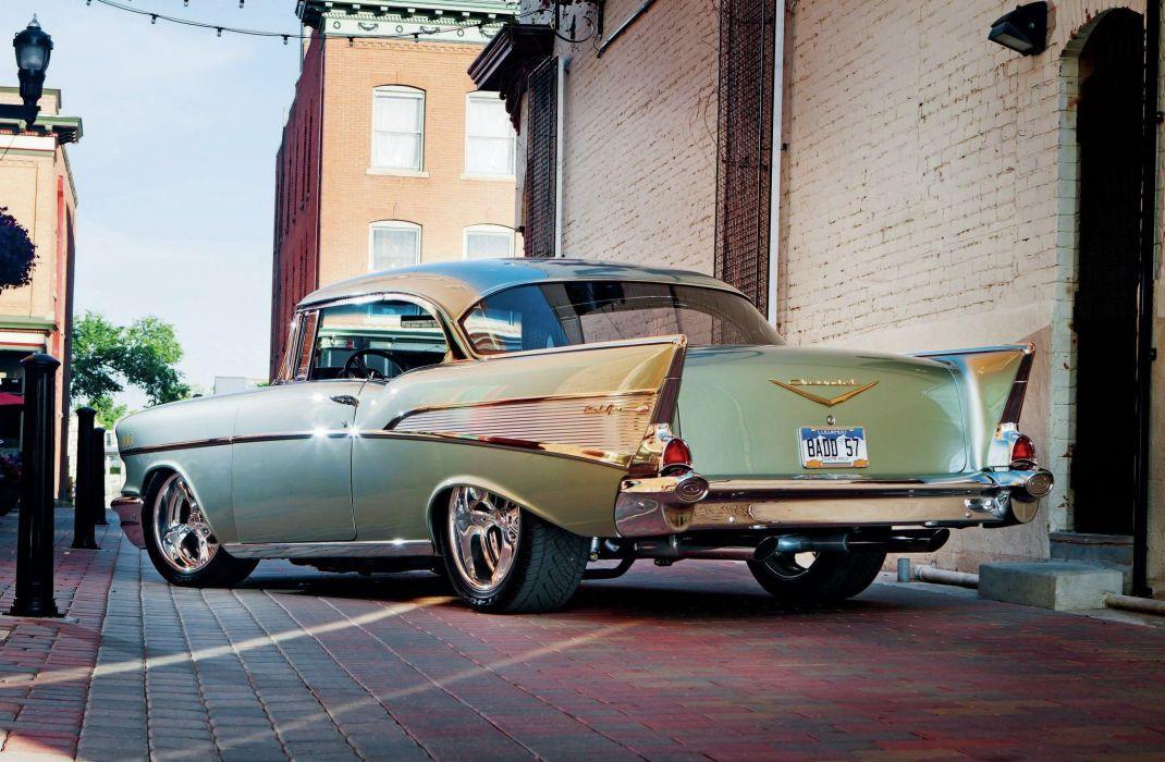 1957 Chevrolet Bel Air Hardtop Street Rod Rodder Hot Super USA 2048x1360-05 wallpaper