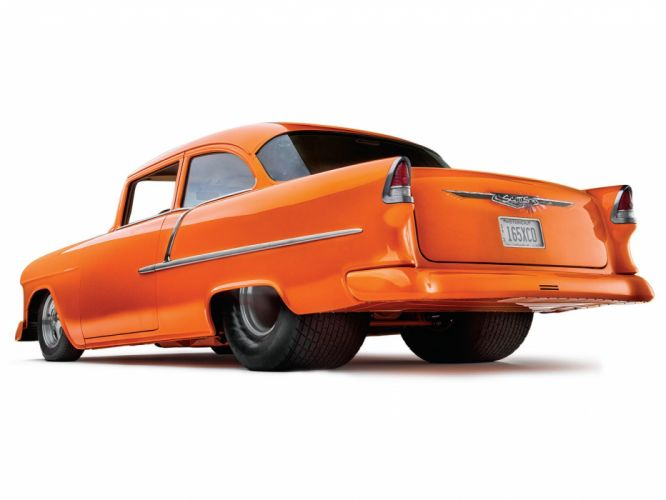 1955 Chevrolet Chevy Bel Air ProStreet Rodder Super Drag USA 1600x1200-01 wallpaper