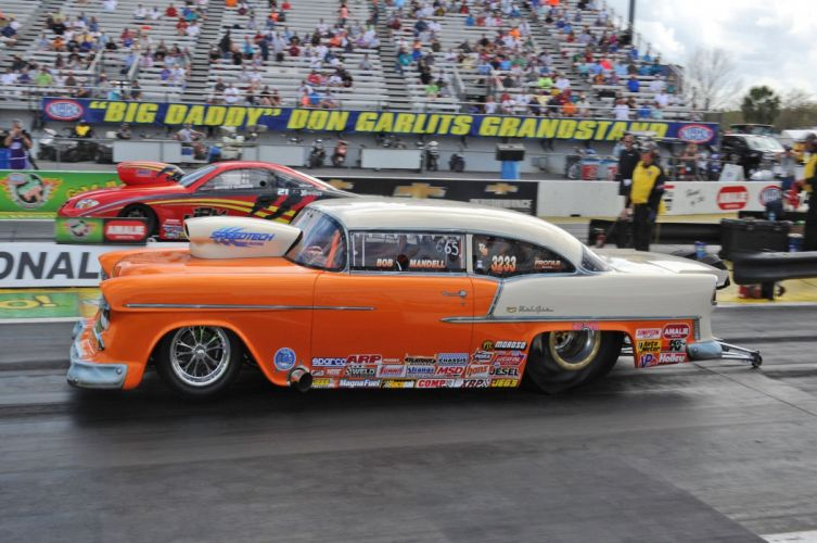 1955 Chevrolet Chevy Bel Air-Drag Car Race Super Stock Wheelie USA 2048x1360-03 wallpaper