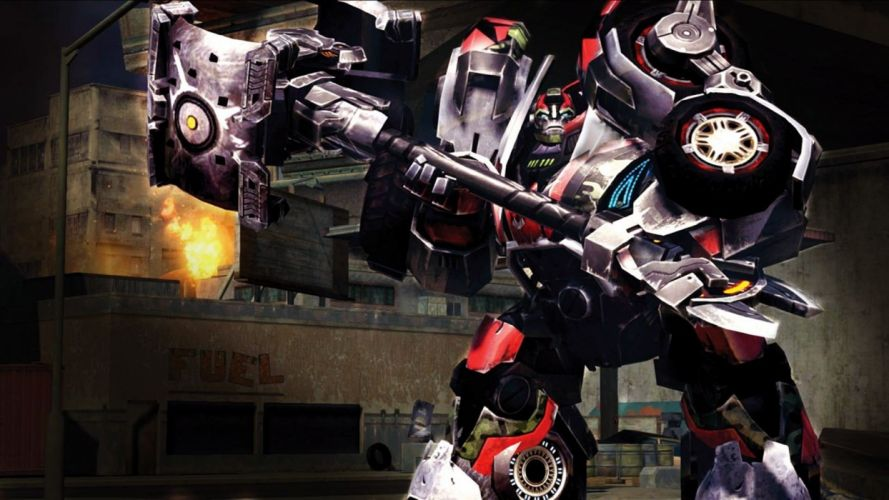 TRANSFORMERS UNIVERSE sci-fi mmo action fighting tactical mecha mech robot warrior 1tranu wallpaper
