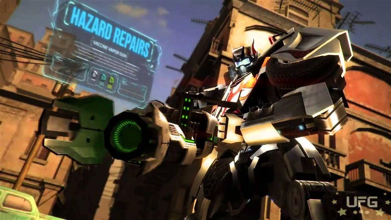 TRANSFORMERS UNIVERSE sci-fi mmo action fighting tactical mecha mech robot warrior 1tranu wallpaper