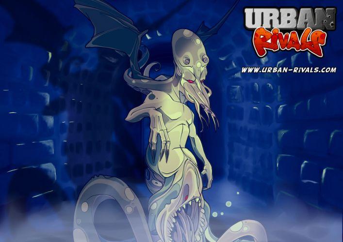 URBAN RIVALS online manga anime mmo rpg card fantasy adventure 1urbanr action fighting wallpaper