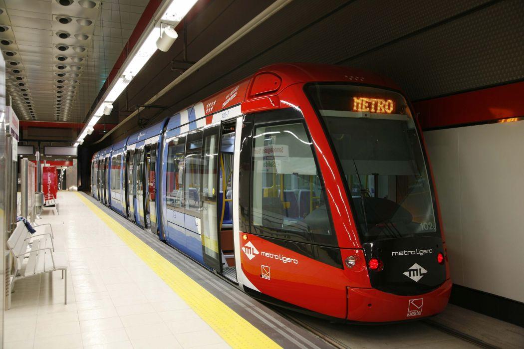 metro subterraneo rojo transporte wallpaper