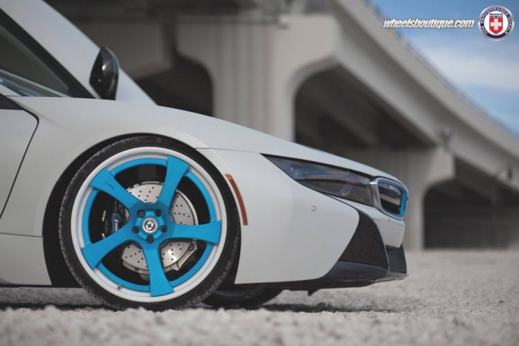 HRE wheels BMW-i8 electric cars tuning wallpaper