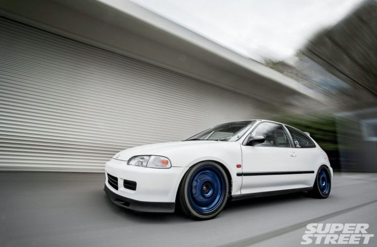 1993 honda civic-si cars modified wallpaper