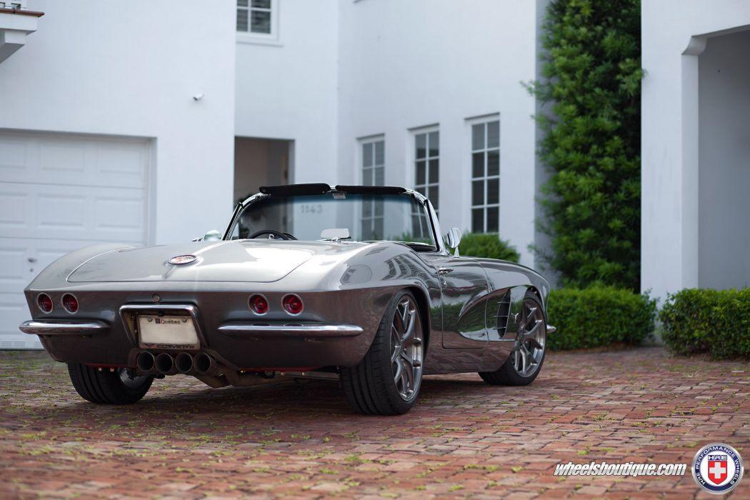 cars chevy chevrolet corvette-c1 classic cars hre Tuning wheels wallpaper