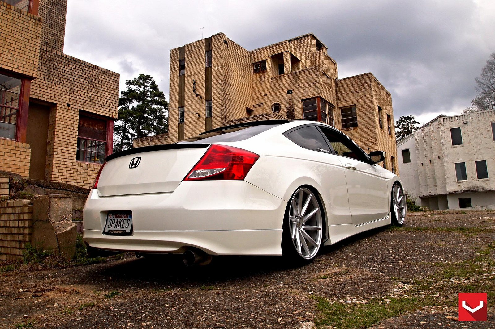 cars vossen tuning wheels honda accord white wallpaper. Black Bedroom Furniture Sets. Home Design Ideas