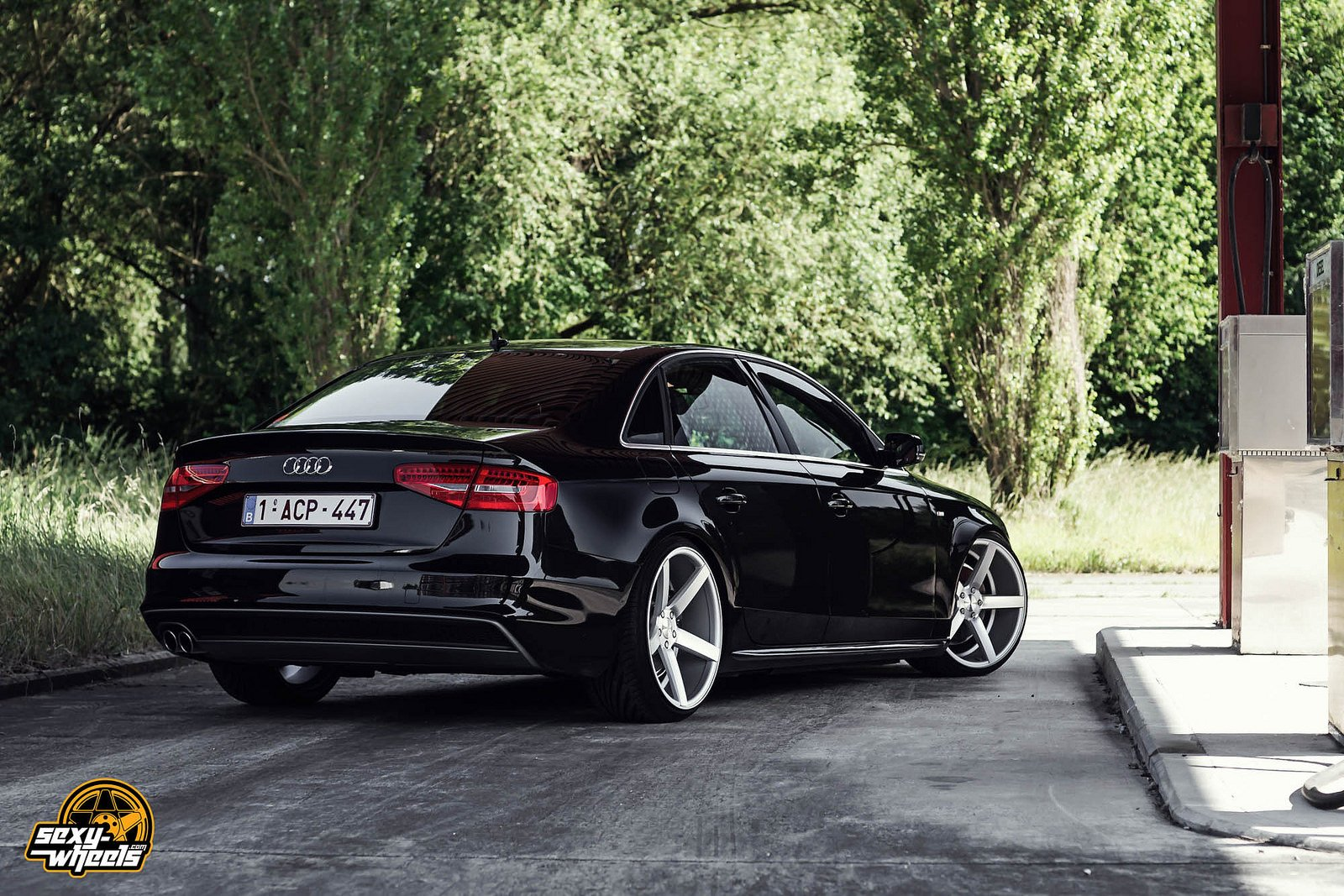 cars vossen tuning wheels audi a4 sedan black wallpaper 1600x1067 679146 wallpaperup. Black Bedroom Furniture Sets. Home Design Ideas