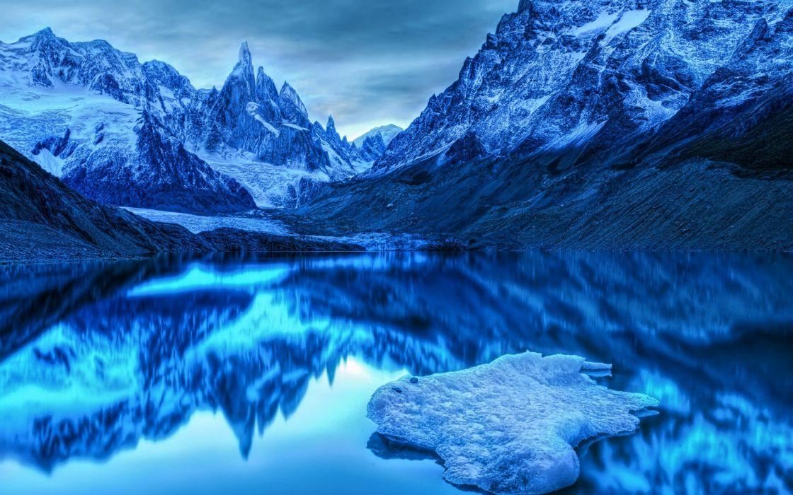 naturaleza paisaje artico lago wallpaper