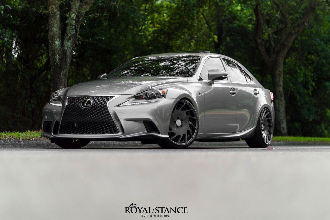 cars vossen Tuning wheels Lexus is350 wallpaper