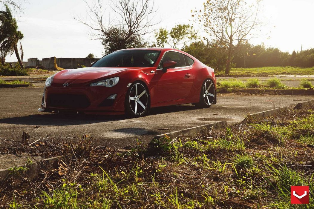 cars vossen Tuning wheels Scion frs coupe wallpaper