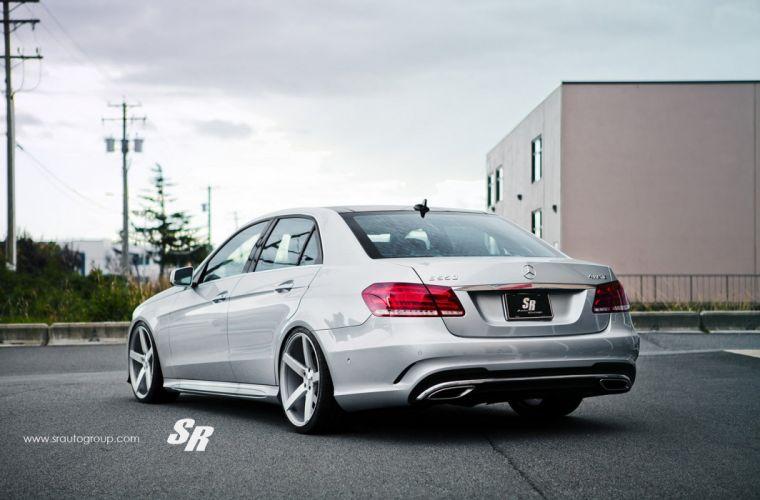 cars vossen Tuning wheels Mercedes E-Class wallpaper