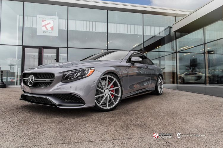 cars vossen Tuning wheels Mercedes S63 coupe wallpaper