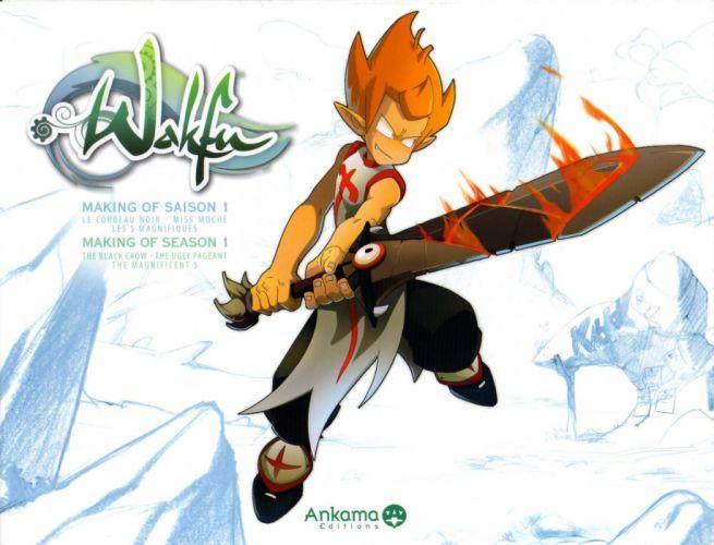 WAKFU strategy mmo rpg fantasy adventure action fighting 1wafku tactical cartoon manga anime wallpaper