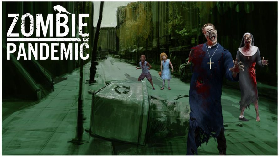 ZOMBIE PANDEMIC survival horror mmo rpg action fighting dark 1zpand sci-fi apocalyptic poster blood wallpaper