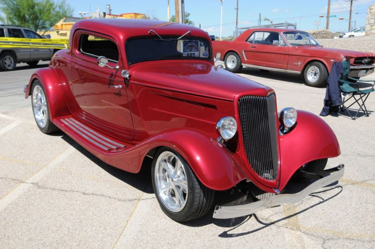 1934 Ford Coupe Three Window Hot Rod Rodder Street Rodding USA 2048x1360-01 wallpaper