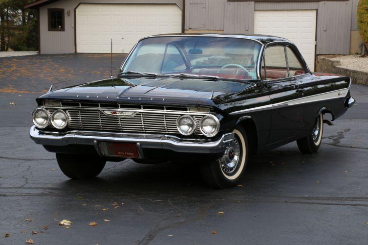 1961 Chevrolet Impala Hardtop Boobletop Classic Old Original USA 5472x3634-00 wallpaper