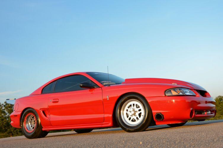 1997 Ford Mustang Cobra Drag Street Rodder USA 4854x3223 wallpaper
