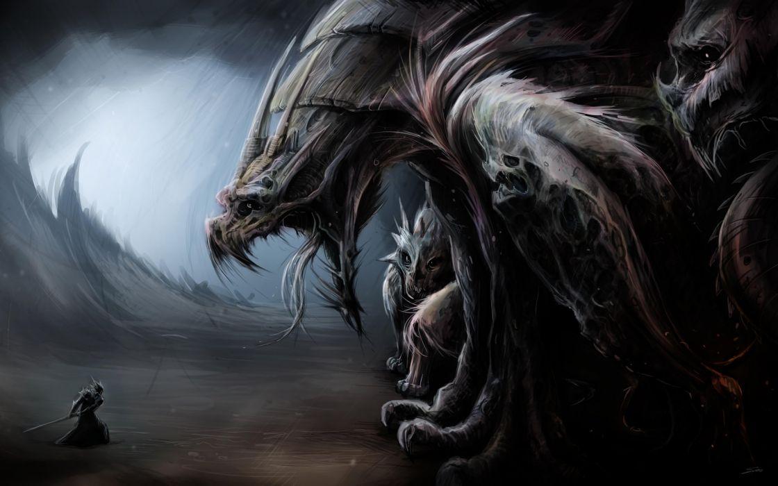 warrior fantasy art artwork wallpaper