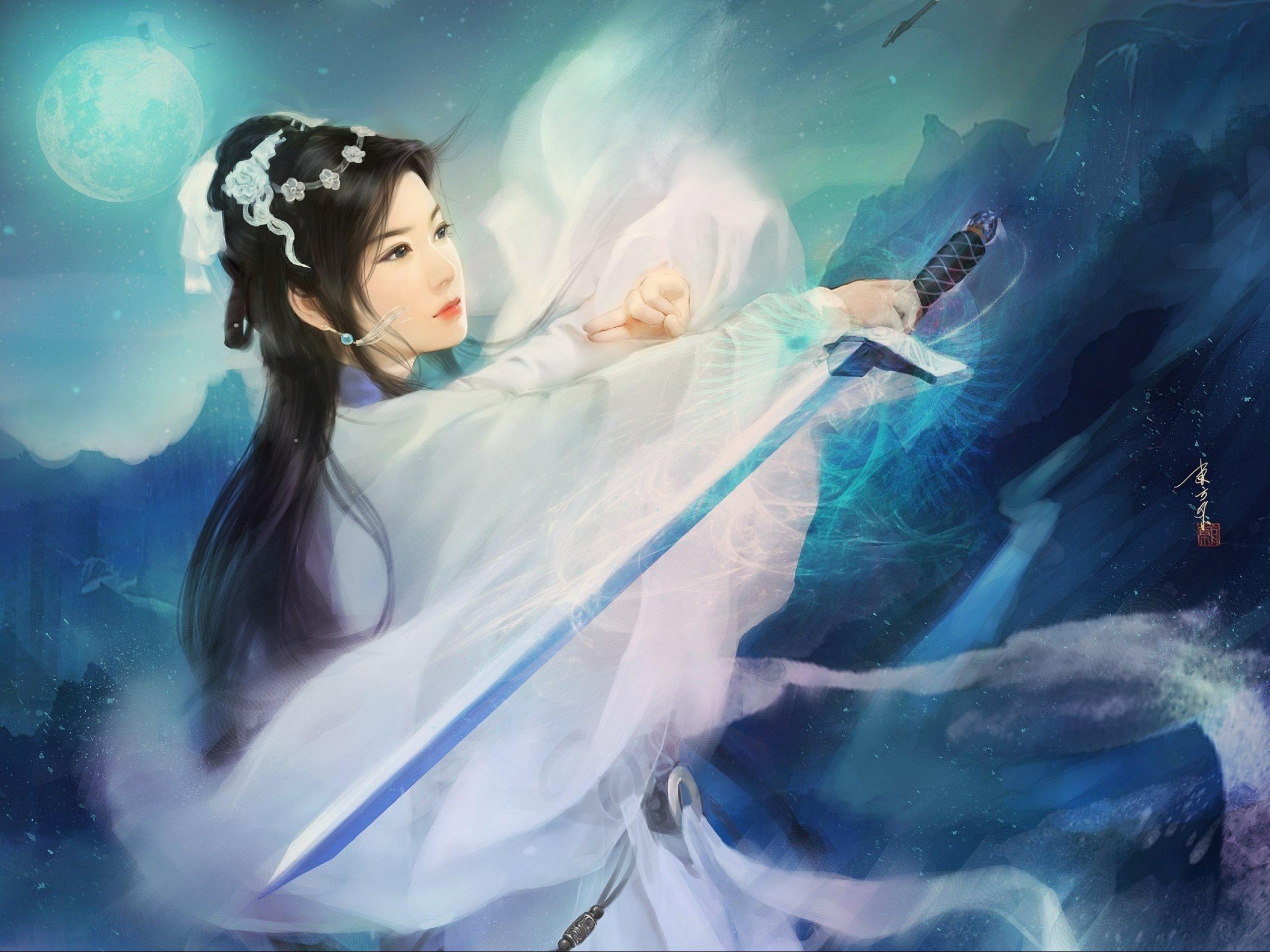 Valuable information Asian fantasy art women warriors apologise
