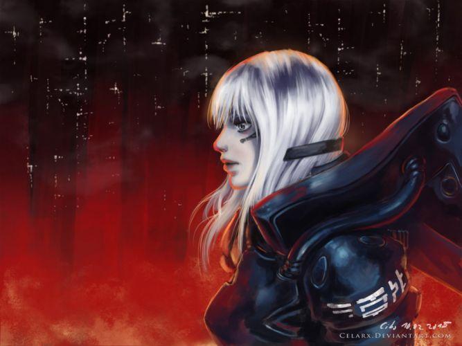 sci-fi women warrior art artwork girl wallpaper