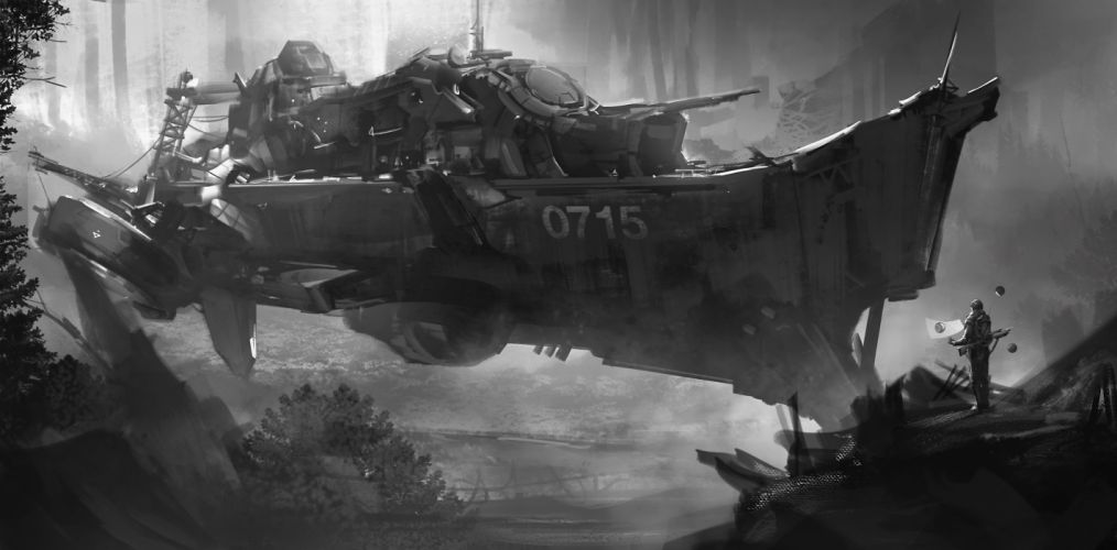 sci-fi spaceship art artwork futuristic wallpaper