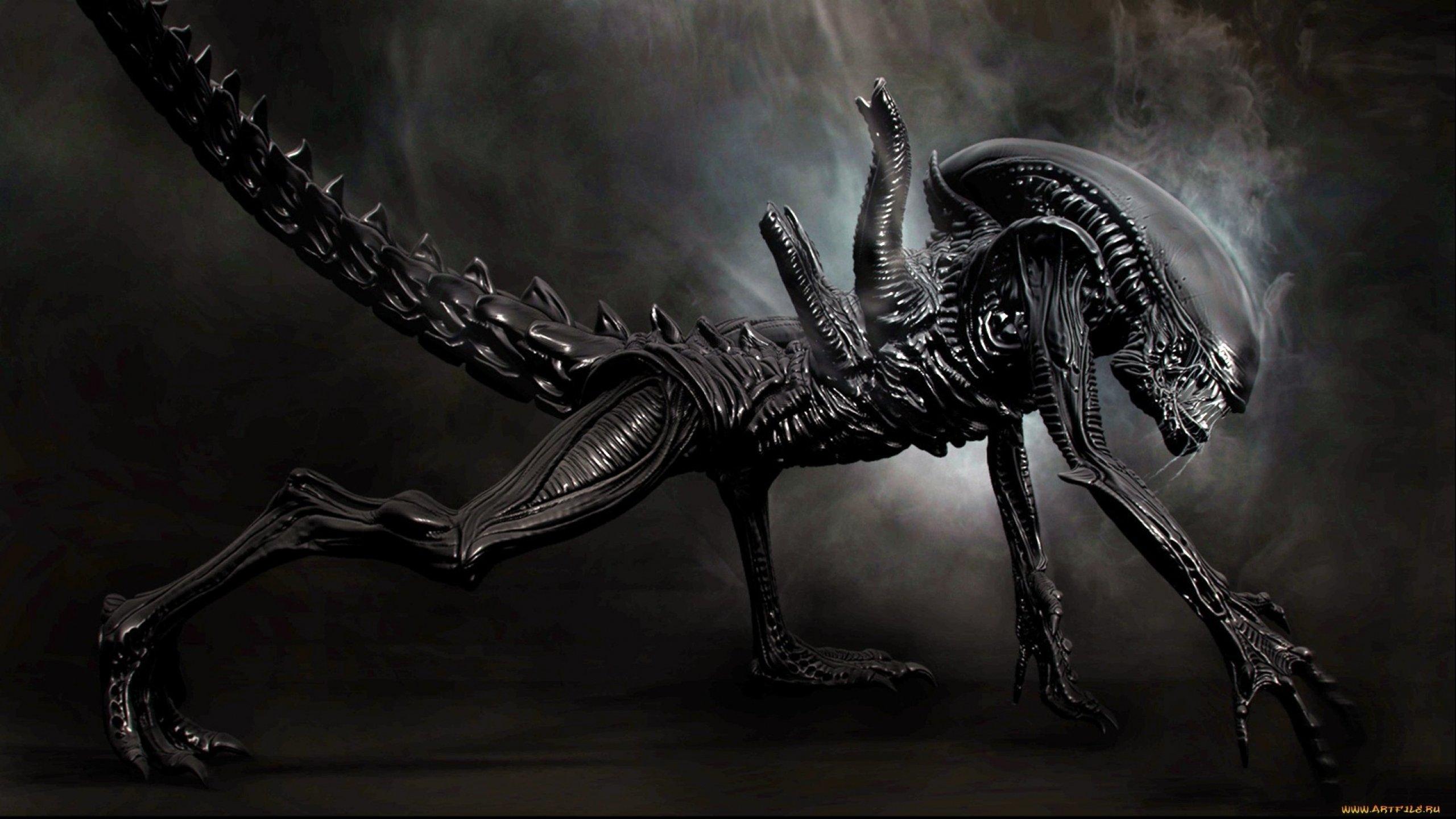 Sci Fi Wallpaper 2560x1440: Alien Sci-fi Art Artwork Futuristic Aliens Wallpaper
