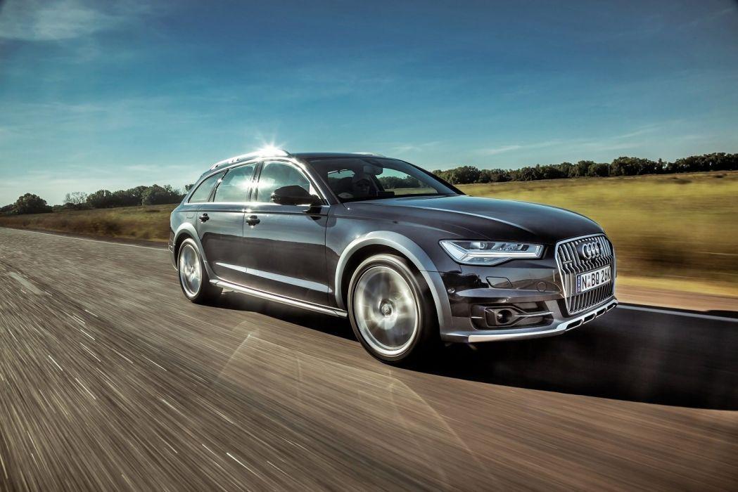 Audi-A6 Allroad 3 0 TDI quattro AU-spec 2015 cars wagon wallpaper