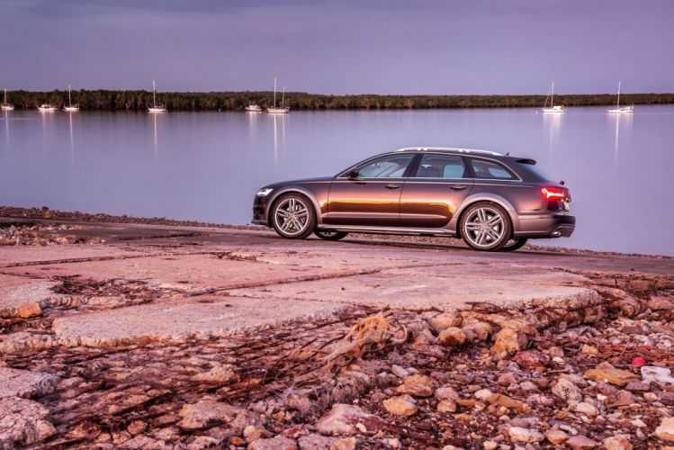 Audi-A6 Allroad 3 0 TDI quattro AU-spec 2015 cars wagon wallpaper