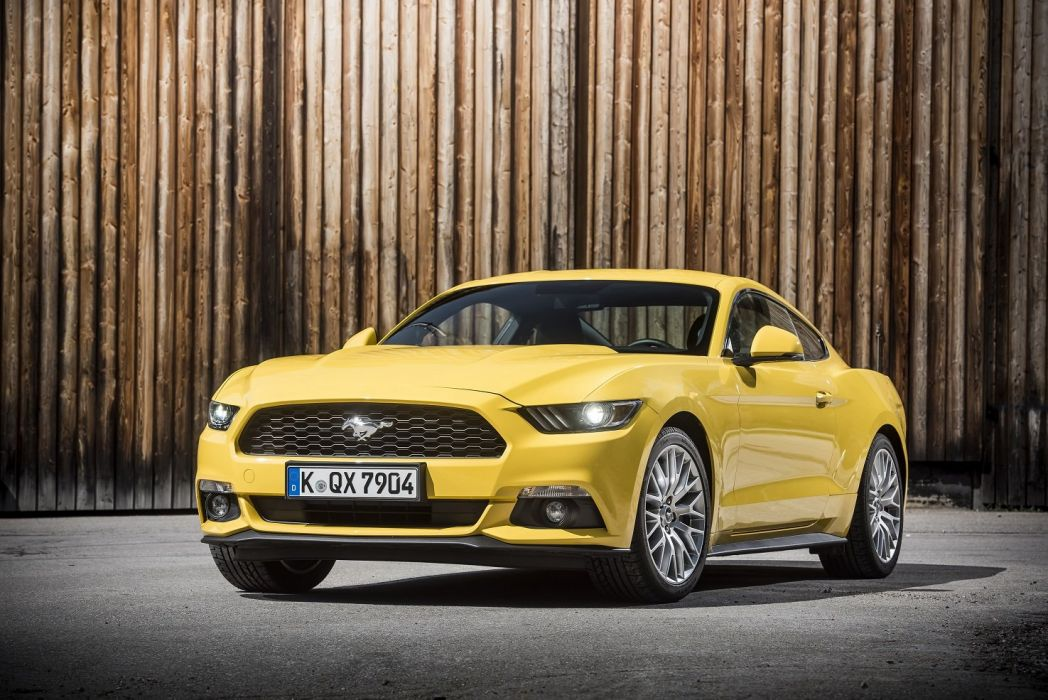 Ford Mustang-GT EU-spec 2015 coupe cars wallpaper