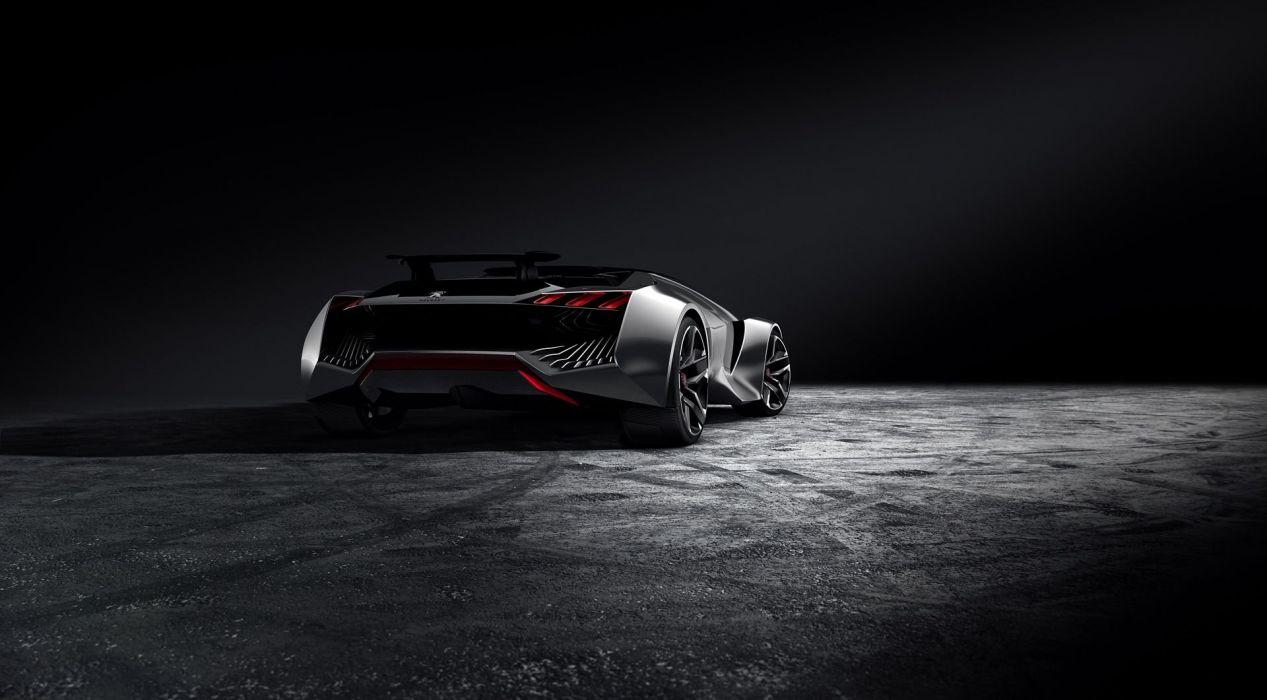 Gran Turismo-6 Peugeot Vision concept cars supercars videogames wallpaper