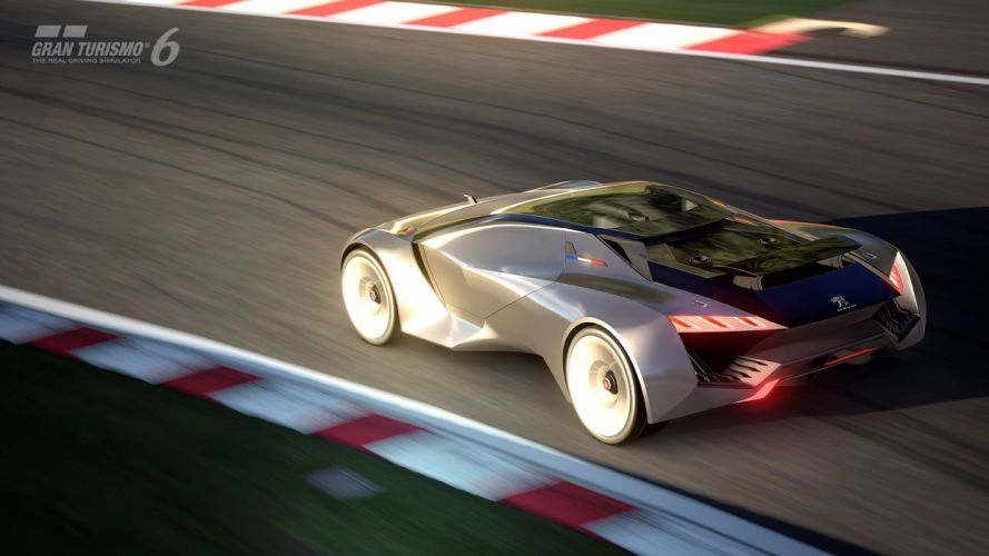 Gran Turismo-6 Peugeot Vision concept cars supercars videogames wallpaper
