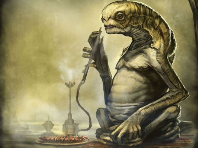 alien sci-fi art artwork futuristic aliens wallpaper
