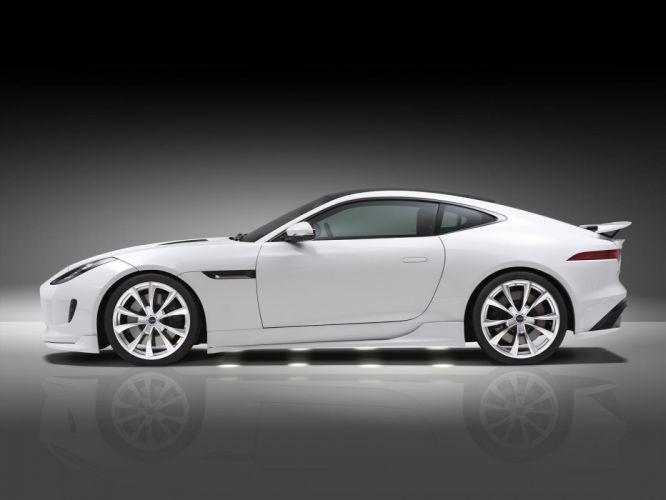 Piecha Design Jaguar F-Type Evolution 3 0 V6 Coupe cars white wallpaper