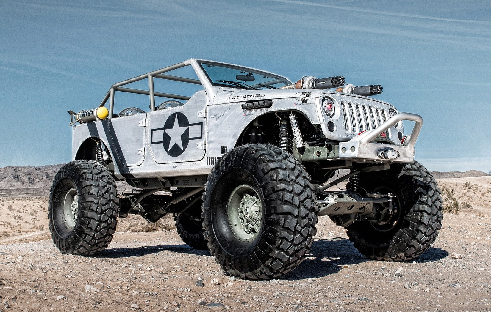 Hauk Designs Tuning 4x4 Jeep Cars Wallpaper 1650x1050