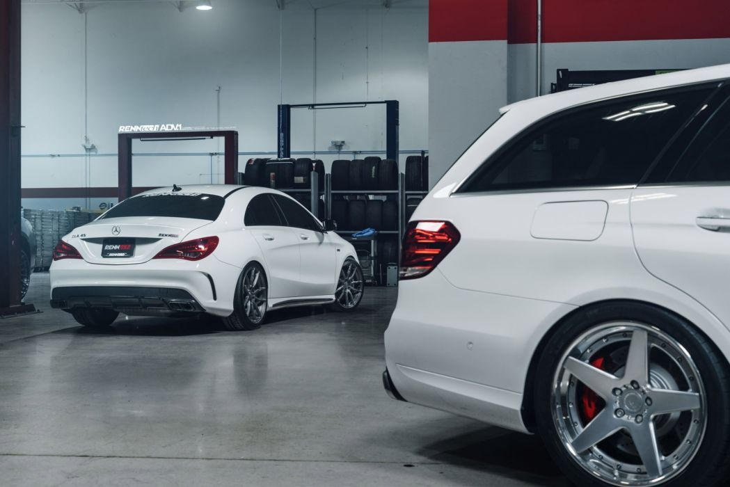 ADV 1 WHEELS MERCEDES CLA-45 RENNTECH tuning cars wallpaper