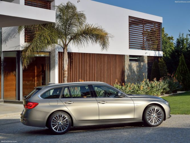 BMW 3-Series touring wagon cars 2016 wallpaper