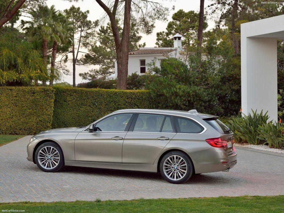 BMW 3-Series touring wagon cars 2016 wallpaper